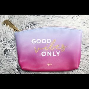 Ipsy bag: GVO makeup bag.